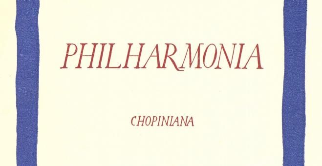 PHILHARMONIA MALLORCA: Vol. II, Juliol-agost de 1931, Núm. 4 i 5