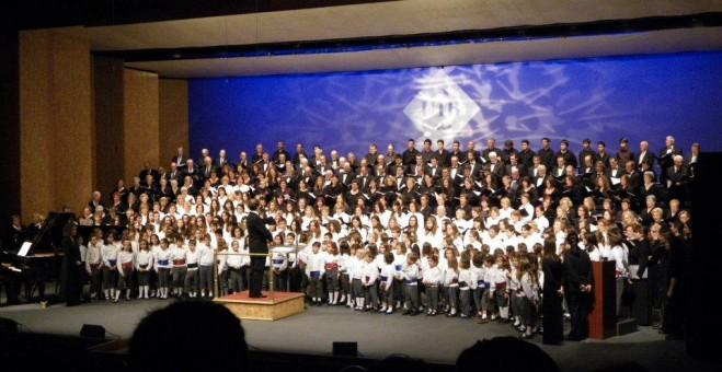 El concert de Nadal de la família coral de la UIB