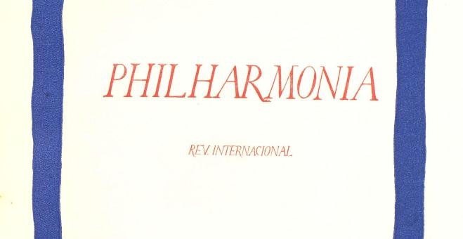 PHILHARMONIA MALLORCA:Vol. II. 1 de desembre de 1931. Núm. 6