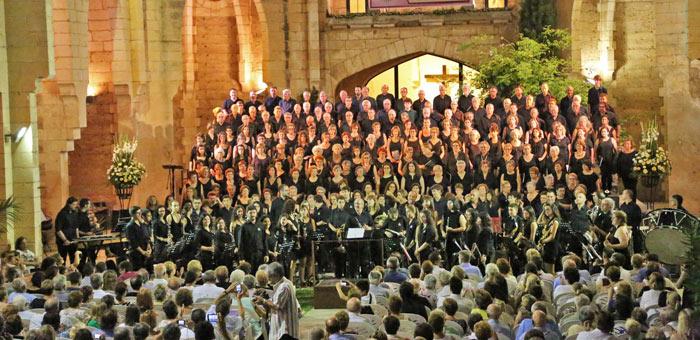 """Cor de Majors de la UIB. """"Carmina Burana"""", juliol 2014"""