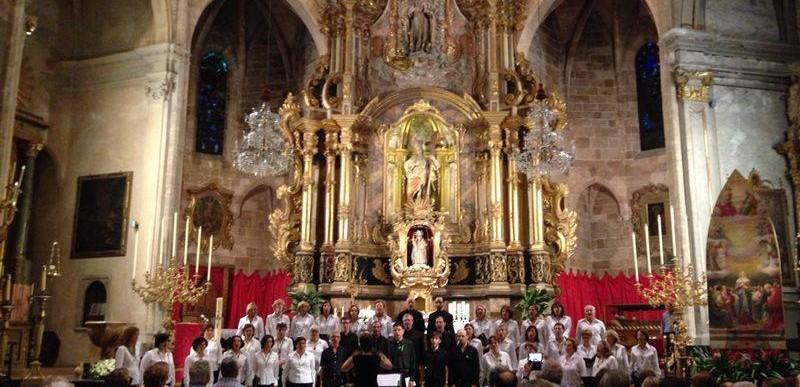 Concert a l'església de Santa Creu. Diumenge 8 de juny 2014