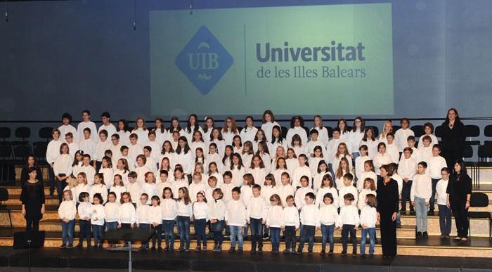 Concert de Nadal de les Corals de la UIB. Desembre 2014