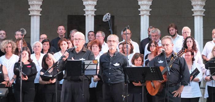 Concert havaneres Claustre Sant Francesc. Juny 2014