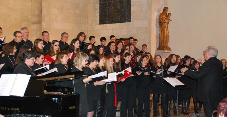 Concert Cor de Pares i Mares de la UIB