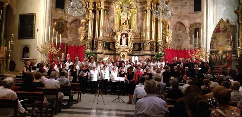 Intercanvi de la Cor de Mestres Cantaires amb l'Agrupació Coral Cardedeuenca de Barcelona