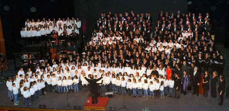 """""""Un Nadal de cinema"""" concert de Nadal de les Corals de la Universitat de les Illes Balears"""