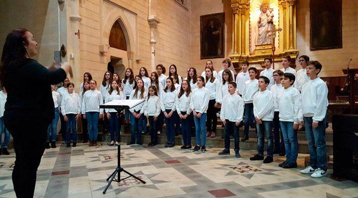 Intercanvi de la Coral Infantil Onzequinze de Joventuts Musicals