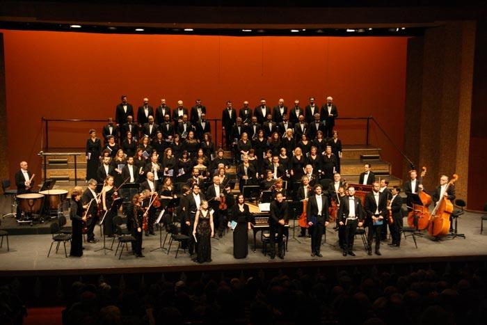 "Tercer concert de temporada OSIB. ""Nänie"" de J. Brahms i ""Five Mysticals Songs"" de V. Williams"