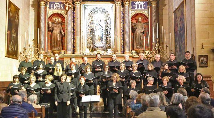 Concert de l'Orfeó UIB i l'Orfeó Artanenc