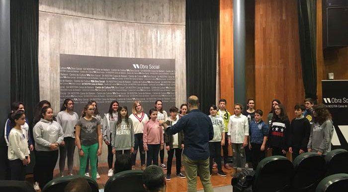 Mostra del taller de música coral amb Josu Elberdin