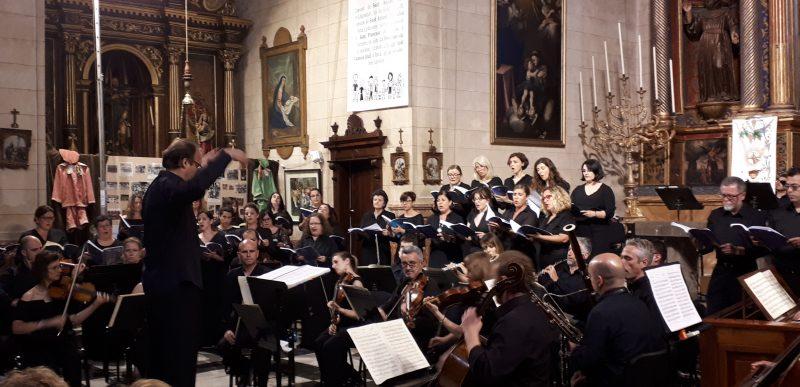 """Missa en si menor"" de Bach. Coral UIB. Artà 2018"