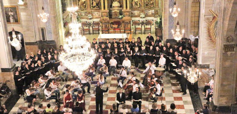 """Concert """"Missa de la Coronació"""" de W. A. Mozart"""