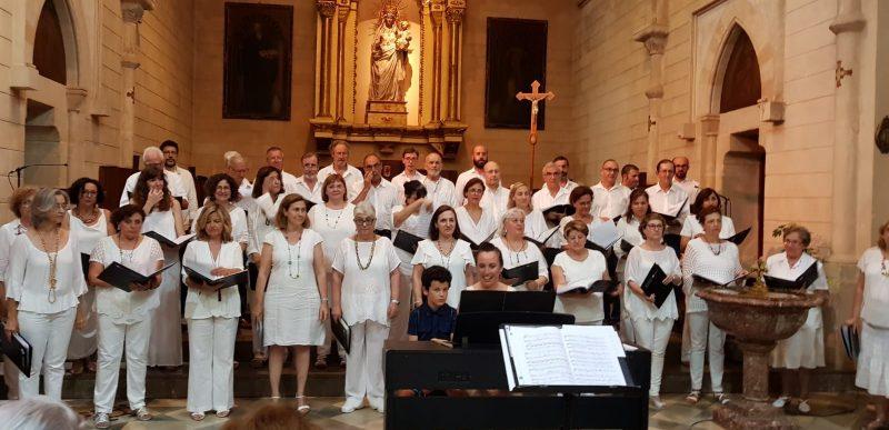 Concert Cor de Mestres cantaires de la UIB- memòria d'Aina Sansó
