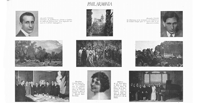 PHILARMONIA MALLORCA: Vol. II, Abril de 1931, Núm. 1