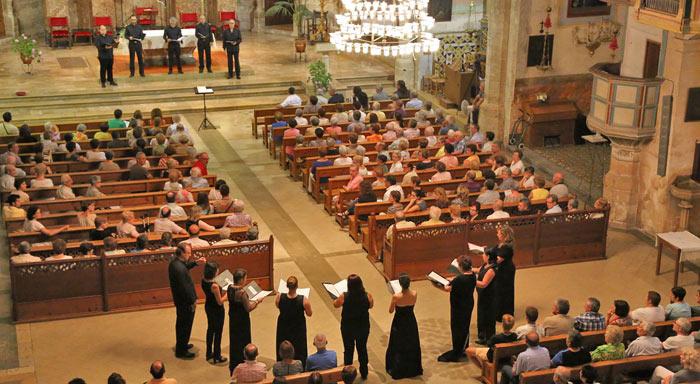 Concert Poema Harmònic a Petra. Juliol 2014