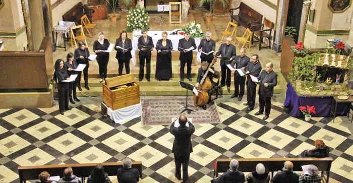 Concert Poema Harmònic a Sant Felip Neri. Gener 2015