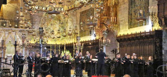 Concert a la Catedral de Mallorca
