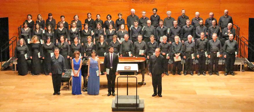 5è concert de temporada de l'OSB, <em>Her sacred spirit soars</em> (E. Whitacre) i <em>Simf.9</em> (L. v. Beethoven)
