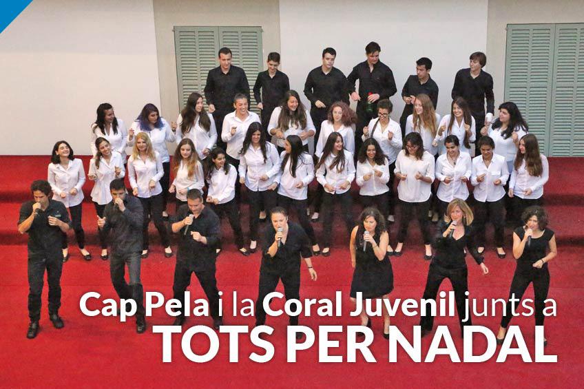 """""""Els joves de la Coral Juvenil posen una energia enorme i farà que surtin espurnes de màgia al Concert de Nadal"""" afirma Cap Pela"""