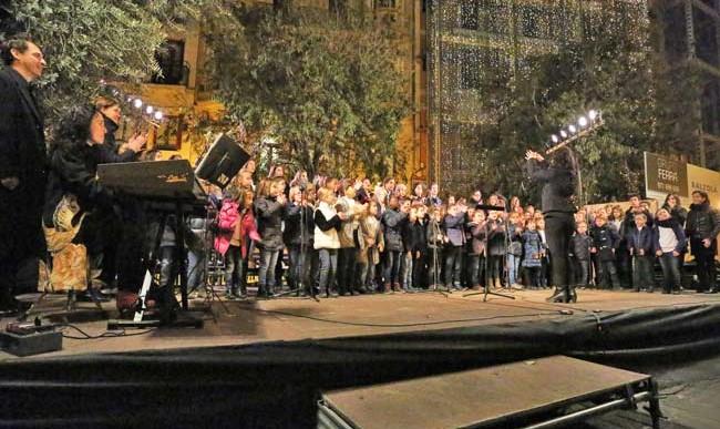 Concert encesa llums de Nadal