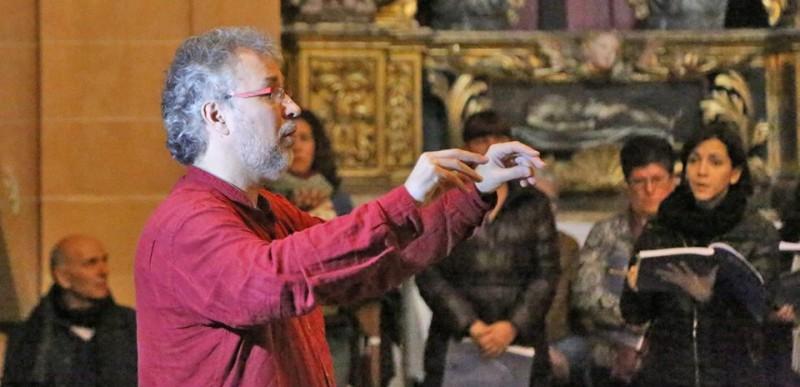 """Assaig obert de la """"Missa en si menor"""" de Bach amb Lluís Vilamajó"""