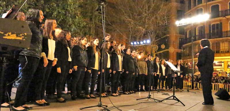 Concert de la Coral Juvenil de Joventuts Musicals de Palma