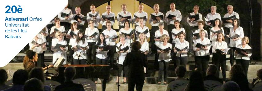 20 anys de l'Orfeó Universitat de les Illes Balears