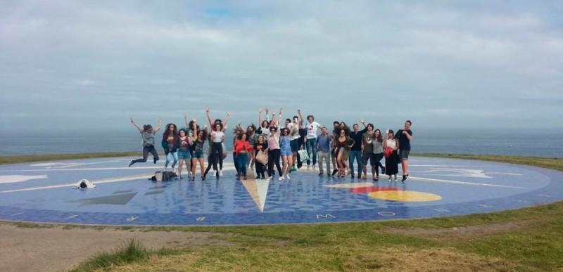 Coral Juvenil de Joventuts Musicals de Palma Intercanvi amb el Coro Joven de la Sinfónica de Galicia.  Viatge a Galícia, del 27 al 30 de juny de 2016