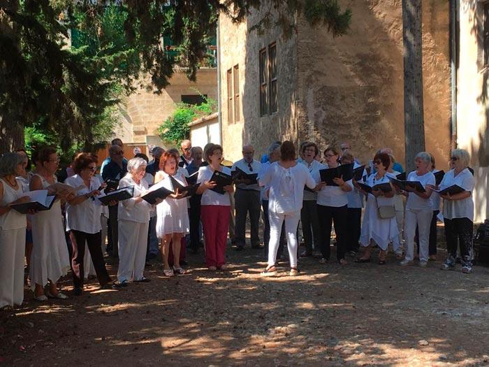 Concert al Mercadet de Primavera de Mater Misericordiae