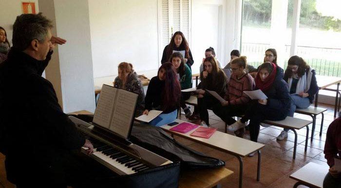 Jornada assaig i convivència Coral Juvenil de Joventuts Musicals