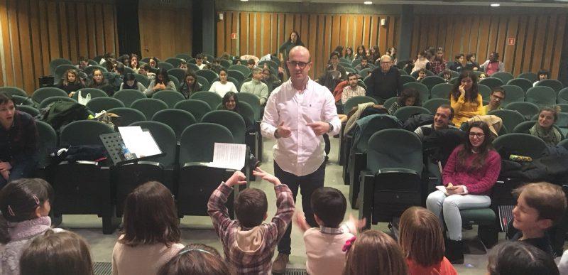 Concert cloenda del curs de direcció coral amb el compositor Josu Elberdin