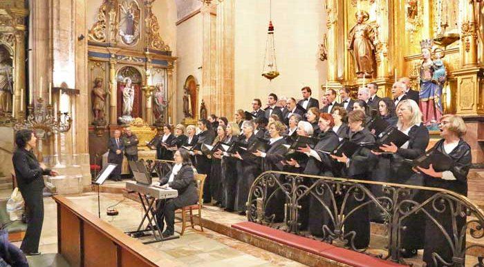 Inauguració dels llums de l'església de Sant Nicolau