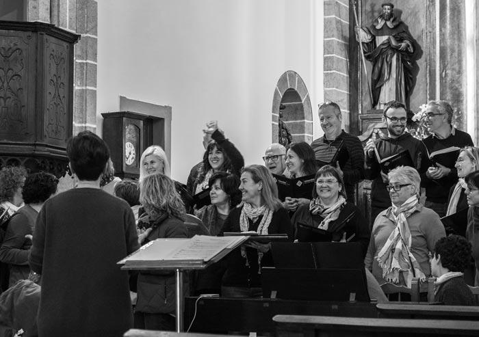 Concert d'intercanvi amb el Cor Auzperri Abesbatza de Roncesvalles