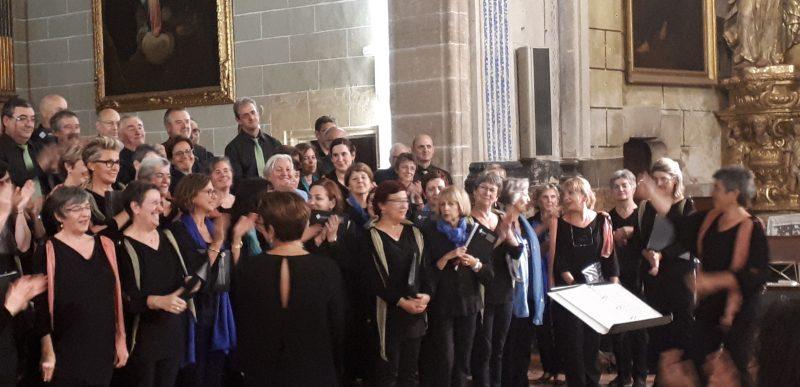 Concert Cor de Mestres de la UIB i Cor Auzperri Abesbatza