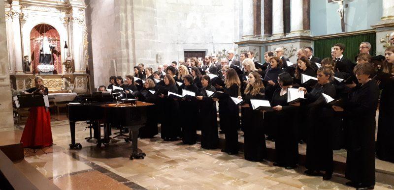 Concert de la Coral Universitat de les Illes Balears a Santanyí
