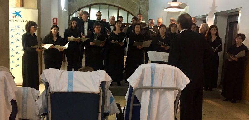 Cap Nadal sense nadales, concert de la Coral UIB
