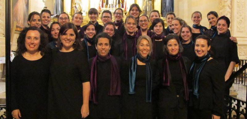 Concert Cor de Dones de la UIB a Santa Clara
