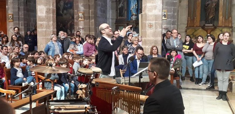 Concert de cloenda del curs de direcció coral Josu Elberdin