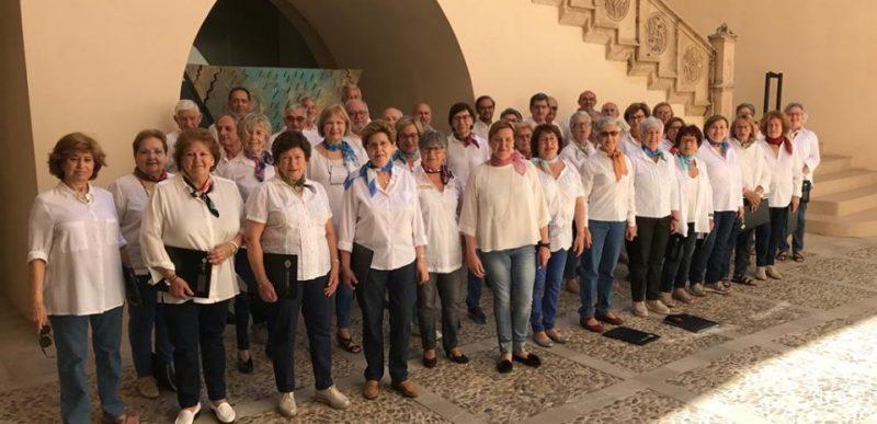 Concert Cor de Majors de la UIB a Ca n'Oleo