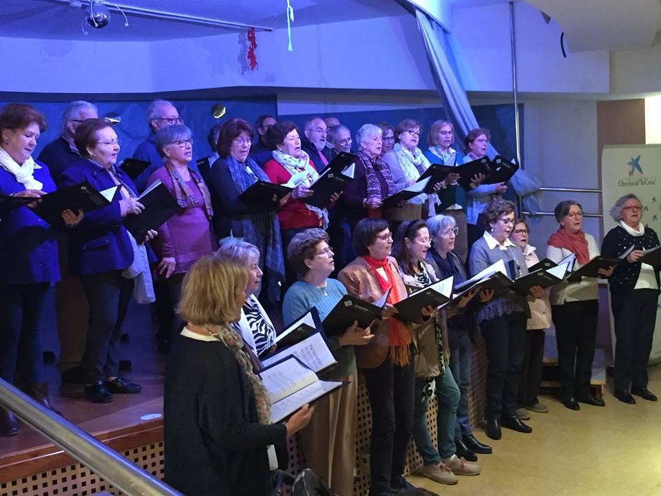 Cap Nadal sense nadales, concert del Cor de Majors de la UIB