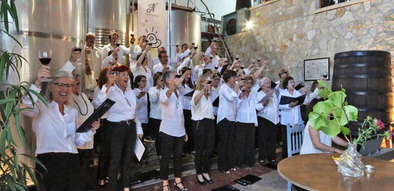 Concert Orfeó UIB a les Bodegues Alba Flor – Vins Nadal