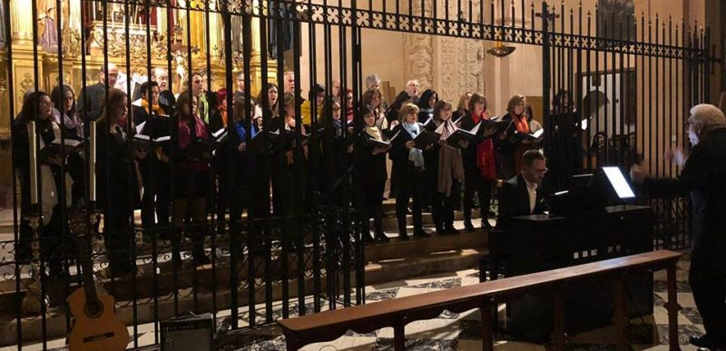 Cor de Pares i Mares UIB V Cicle de Litúrgia Eucarística i cant