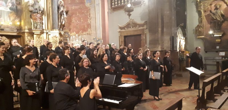 Concert Coral Universitat de les Illes Balears a Pollença