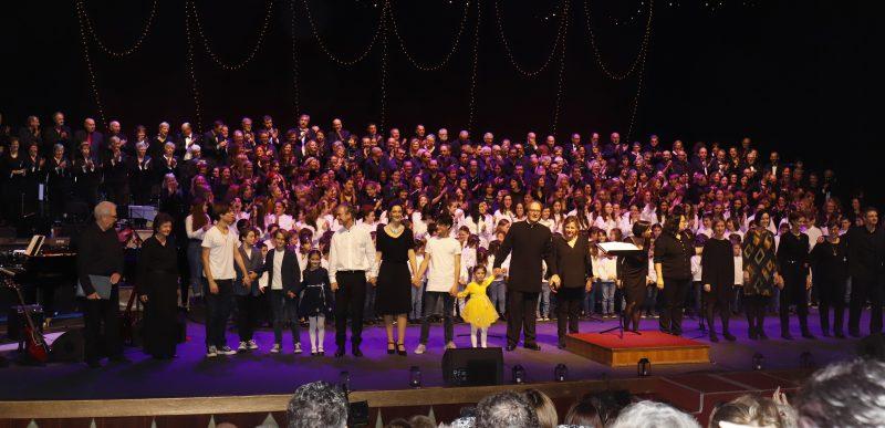 """""""Nadal en família"""" concert de Nadal de les Coral de la UIB 2019"""