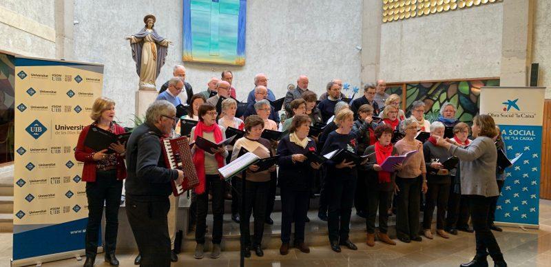 """""""Cap Nadal sense nadales"""" Cor de Majors de la UIB"""
