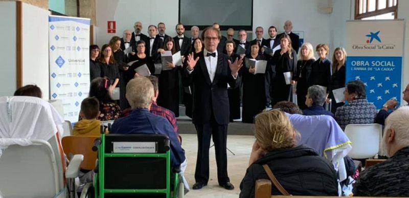 """""""Cap Nadal sense nadales"""" Concert Coral UIB a l'Hospital General"""