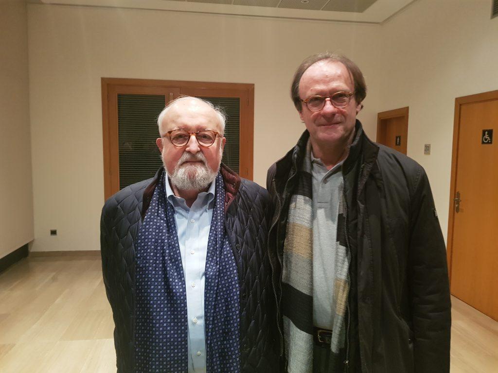 Penderecki i la Coral Universitat de les Illes Balears